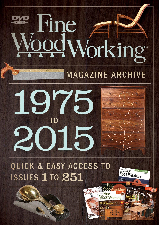 Fine Woodworking 2015 Magazine Archive Editors Of Fine Woodworking 9781631865961 Amazon Com Books