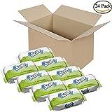 Scott Naturals Folded Flushable Moist Wipes, 306-count Refill (3 Case, Total 24 Packs)