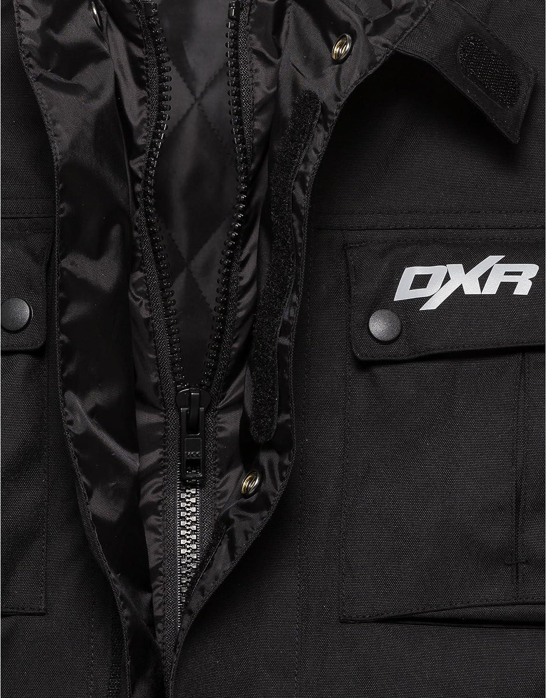 Dxr Motorradjacke Motorrad Jacke Herren Textiljacke Wasserdichte Atmungsaktive Klimamembran Herausnehmbares Thermosteppfutter Verbindungsreißverschluss Armweitenverstellmöglichkeiten M 4xl