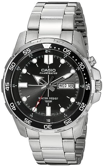 f125f220de9b Casio MTD1079D-1AV - Reloj (Reloj de pulsera