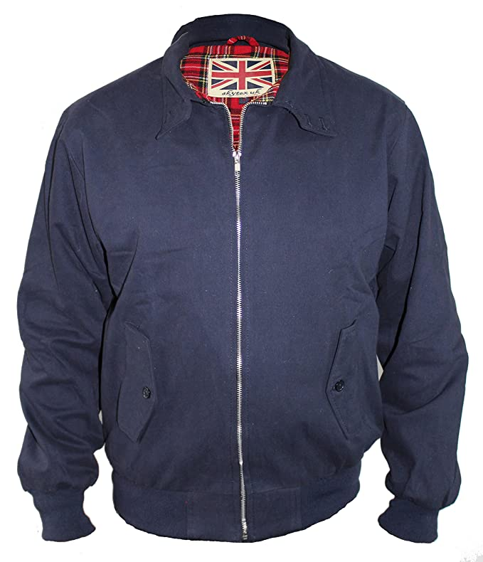 Men's Vintage Style Coats and Jackets Harrington Jacket Classic/Retro/Mod/Scooter by SKYTEXUK 10 colours sizes XS - 8XL £23.98 AT vintagedancer.com