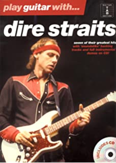 PLAY GTR DIRE STAITS + CD (Play guitar/bass/drum/PF.