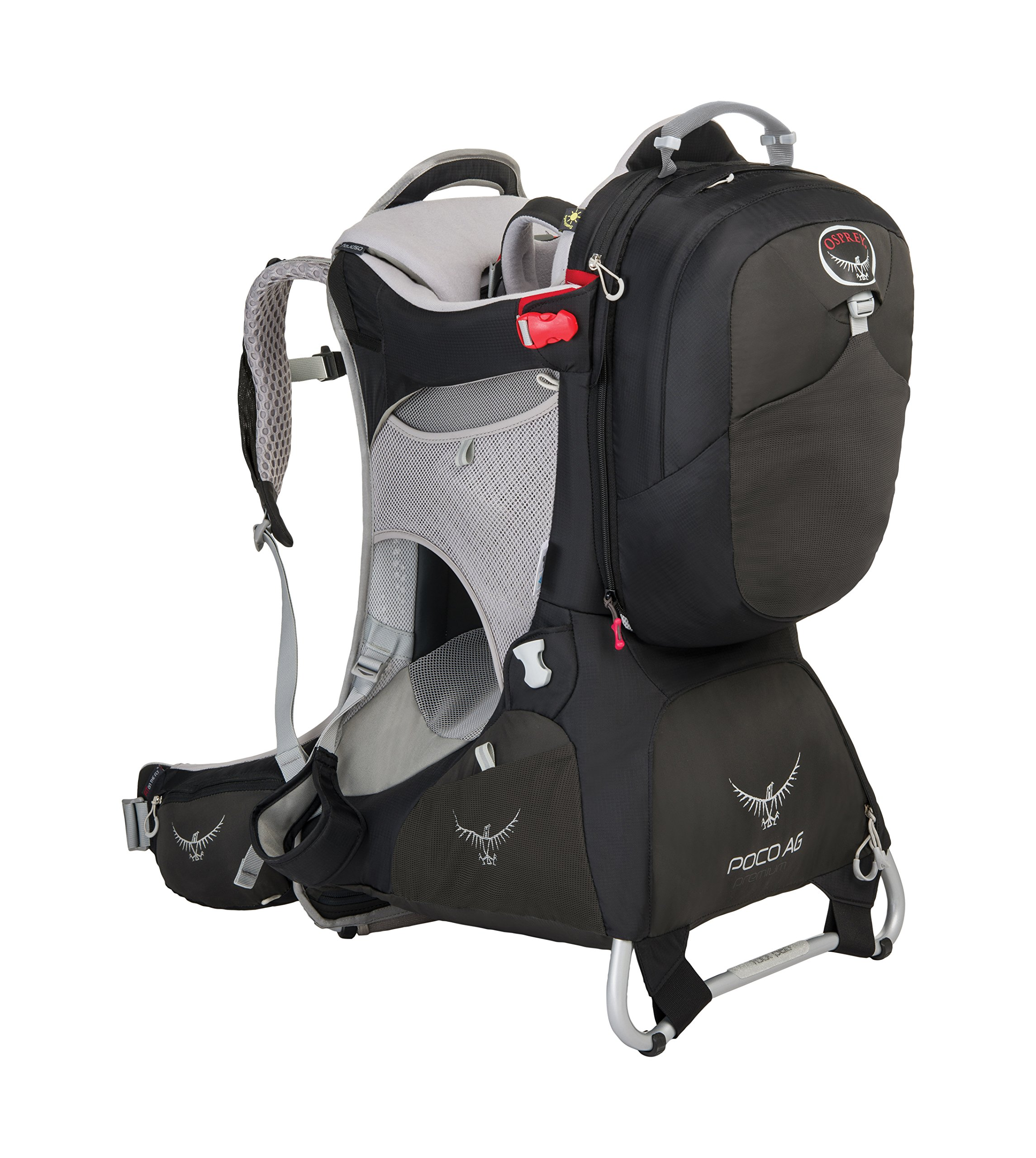 Osprey Packs Poco AG Premium Child Carrier, Black