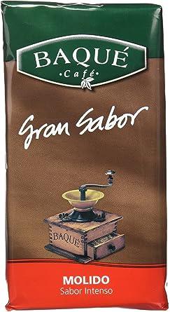 Cafés Baqué Café Molido Gran Sabor - 250 gr - , Pack de 6: Amazon ...