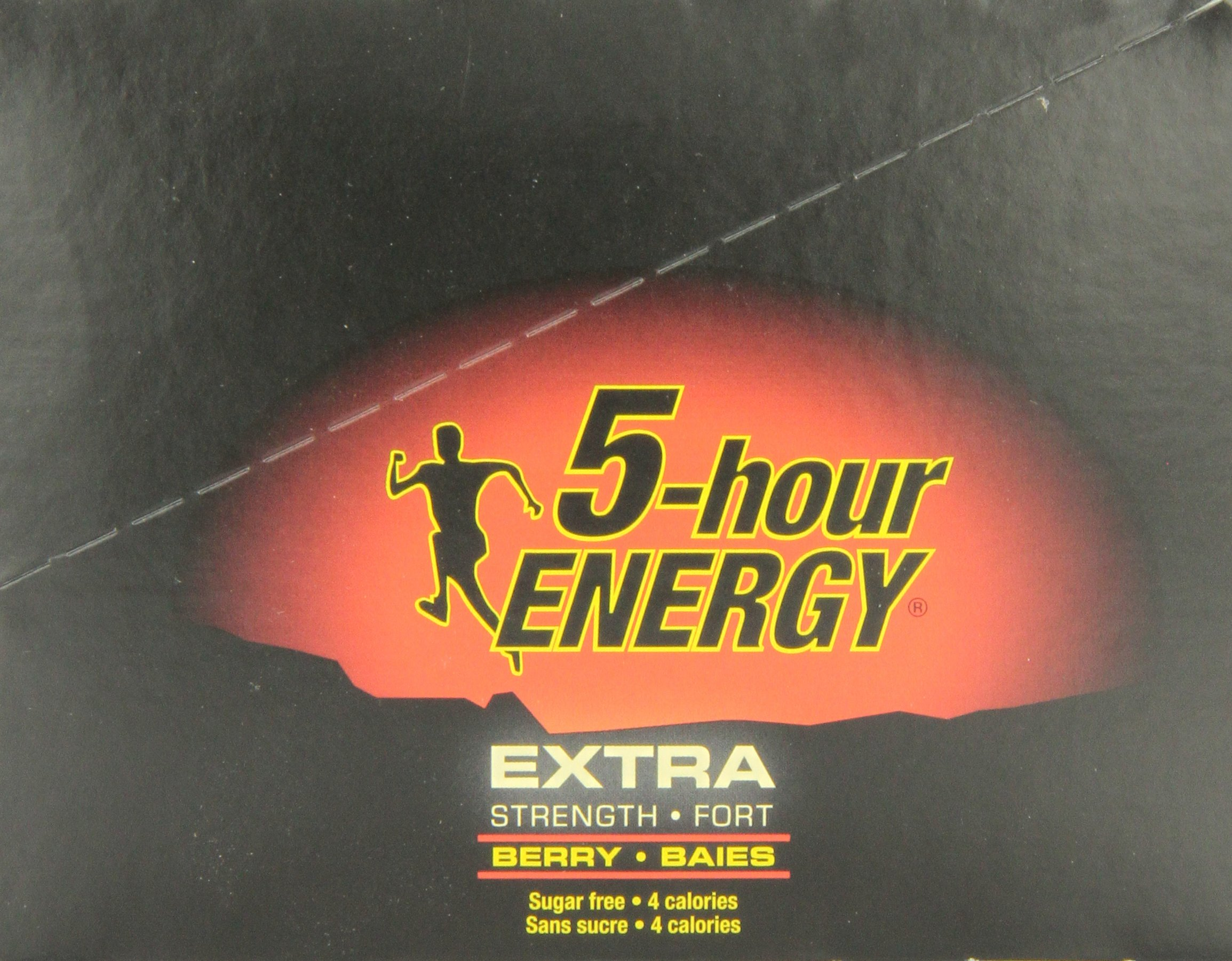 12 Pack of 5 Hour Energy and 12 Pack of 5 Hour Extra Strength, Combo Pack, 1.93 Fluid Ounces Box (Pack of 24) by 5 Hour Energy (Image #8)