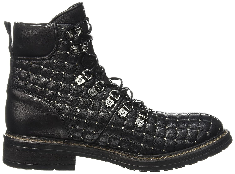 Now Damen 3175 Stiefel & Stiefeletten, Schwarz-Noir(Trap Nero Santiago Nero  Borchie Nikel), 38 EU: Amazon.de: Schuhe & Handtaschen