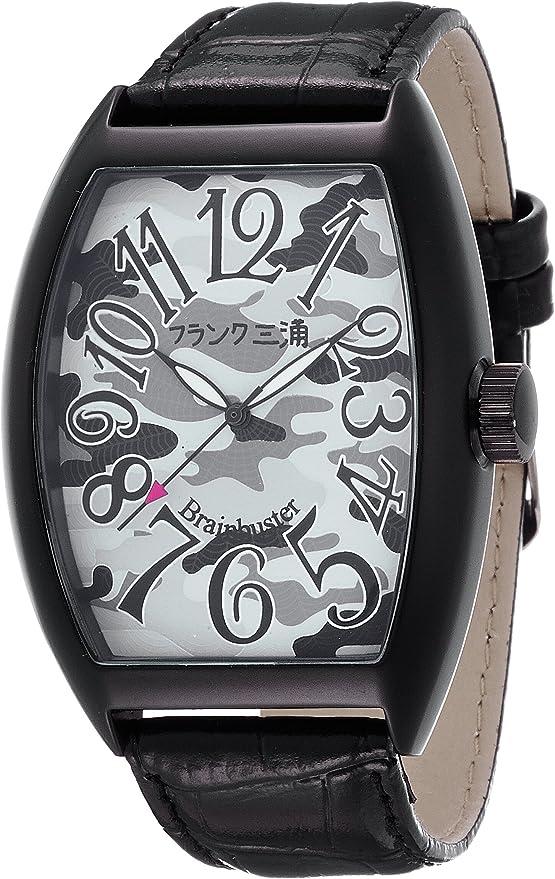 [フランクミウラ] 腕時計 FM06K-BKCFBK ブラック