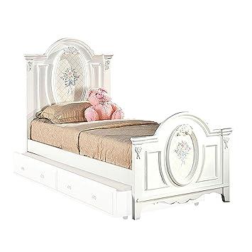 . Amazon com  Major Q Full Panel Bed Simple Elegant Youth Girls