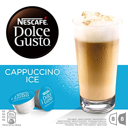 NESCAFÉ Dolce Gusto Café Cappuccino Ice | Pack de 16 Cápsulas