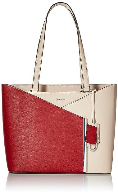 8166115a70 Calvin Klein Mara Saffiano East/West Tote: Amazon.co.uk: Shoes & Bags