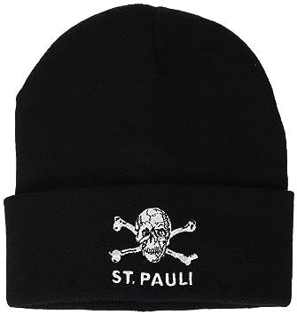 FC St. Pauli Skull Beanie Winter Hat 2915b1eb25aa