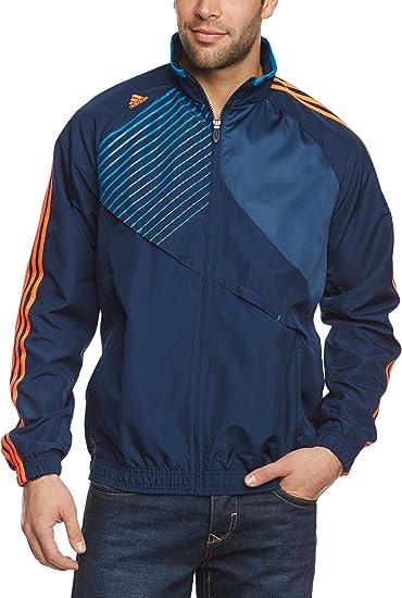 adidas X51002 Veste de sport pour homme Predator Woven Bleu