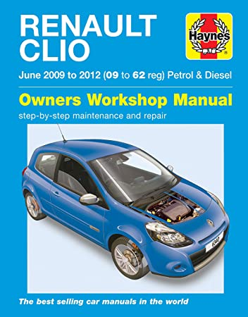 renault clio repair manual haynes manual service manual workshop rh amazon co uk Workshop Manuals for Cars Workshop Manual 1996 Mercury Cougar