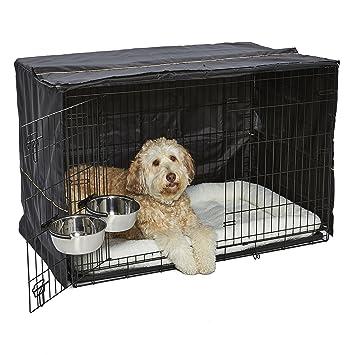 Amazon.com: MidWest iCrate Kit de jaula, cubierta, 2 cuencos ...