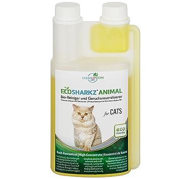 Ecosharkz Geruchsneutralisierer für Katzen - natürlicher Katzenurin ...