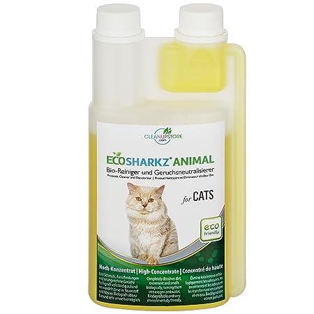 Ecosharkz Geruchsneutralisierer Für Katzen Natürlicher Katzenurin
