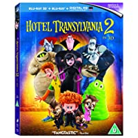 Deals on Hotel Transylvania 2 Blu-ray 3D