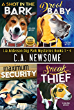 Lia Anderson Dog Park Mysteries: Books 1 - 4