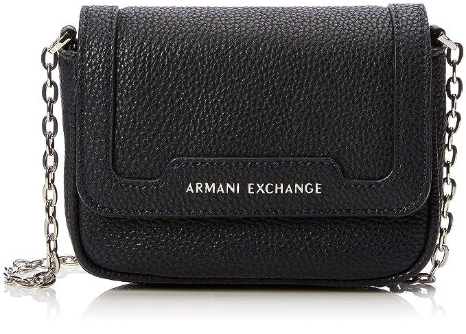 0125749f8f Amazon.com: A|X Armani Exchange Chain Strap Small Crossbody Bag ...