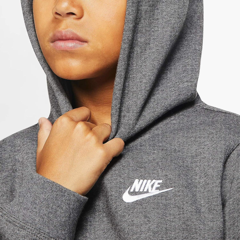 Nike Boys NSW Pull Over Hoodie Club