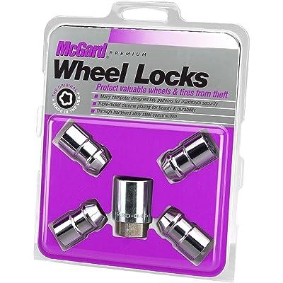 "McGard 24130 Chrome Cone Seat Wheel Locks (1/2"" - 20 Thread Size) - Set of 4: Automotive"