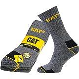 3er Pack CATERPILLAR Cat-Work Socken Herren Arbeitssocken Strümpfe Mehrfarbig 115A