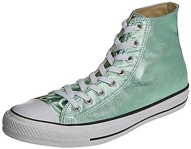 Converse CTAS Ox, Sneakers Mixte Adulte, Vert (Menta), 35 EU