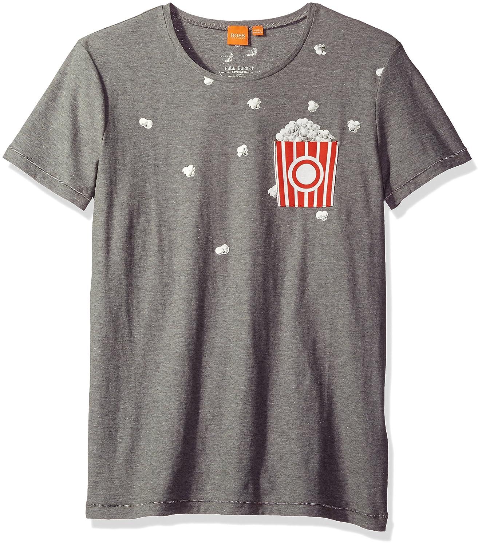 BOSS Orange Men's Toolbox Printed Crew T-Shirt