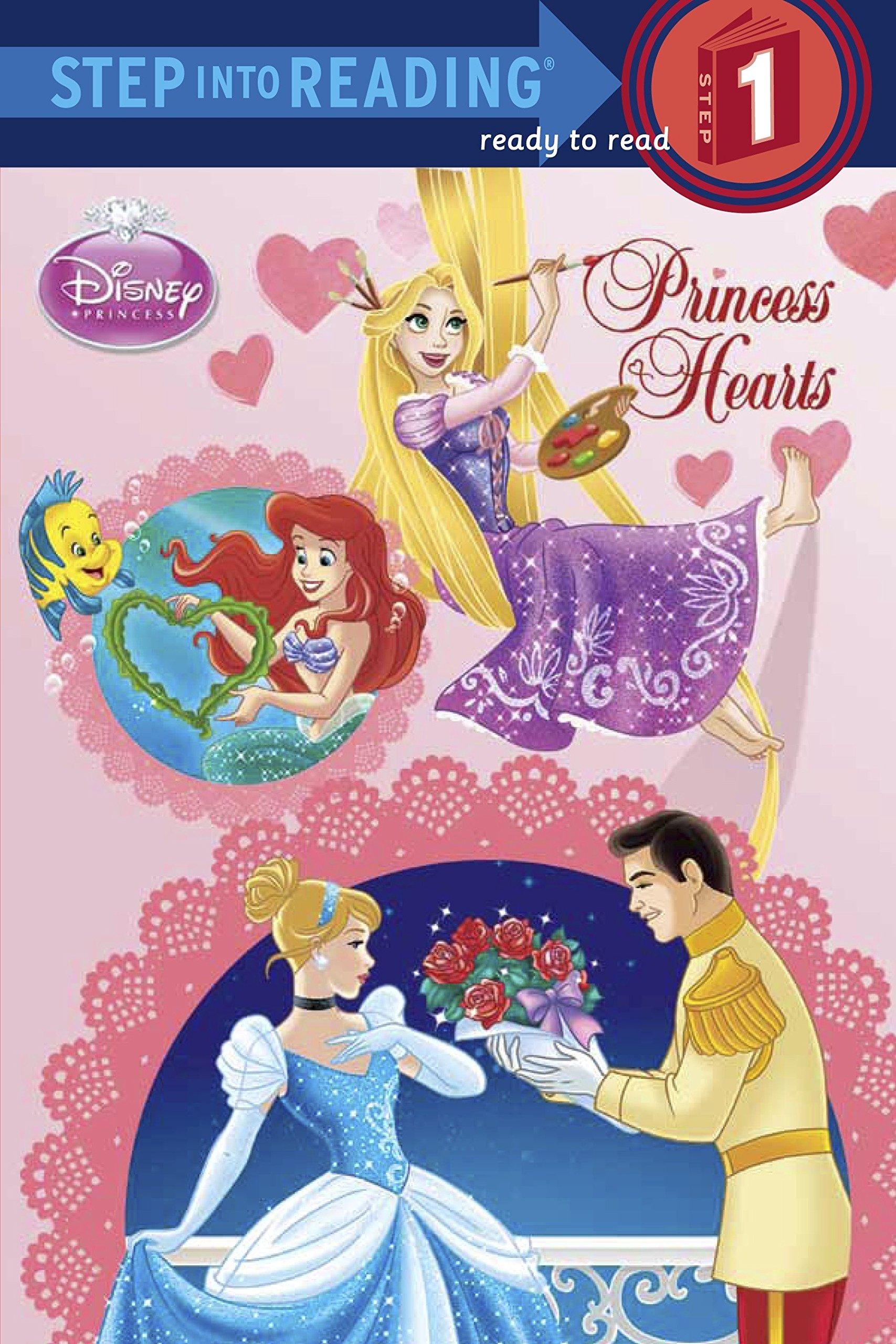 Read Online Princess Hearts (Disney Princess) (Step into Reading) pdf