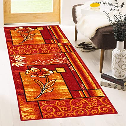 Cloth Fusion Premium Quality Made in Egypt Bed Runner Carpet for Bedroom (2x5 Feet)