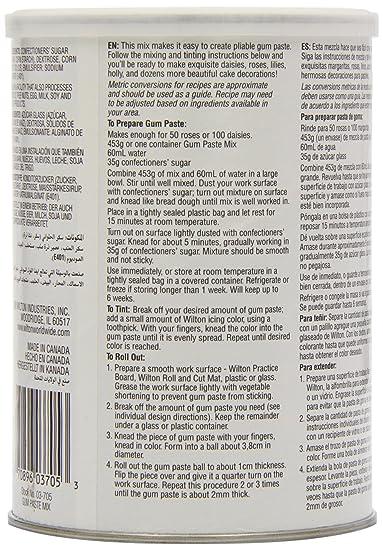 Gum Paste Mix, 453g (16oz): Amazon.co.uk: Grocery