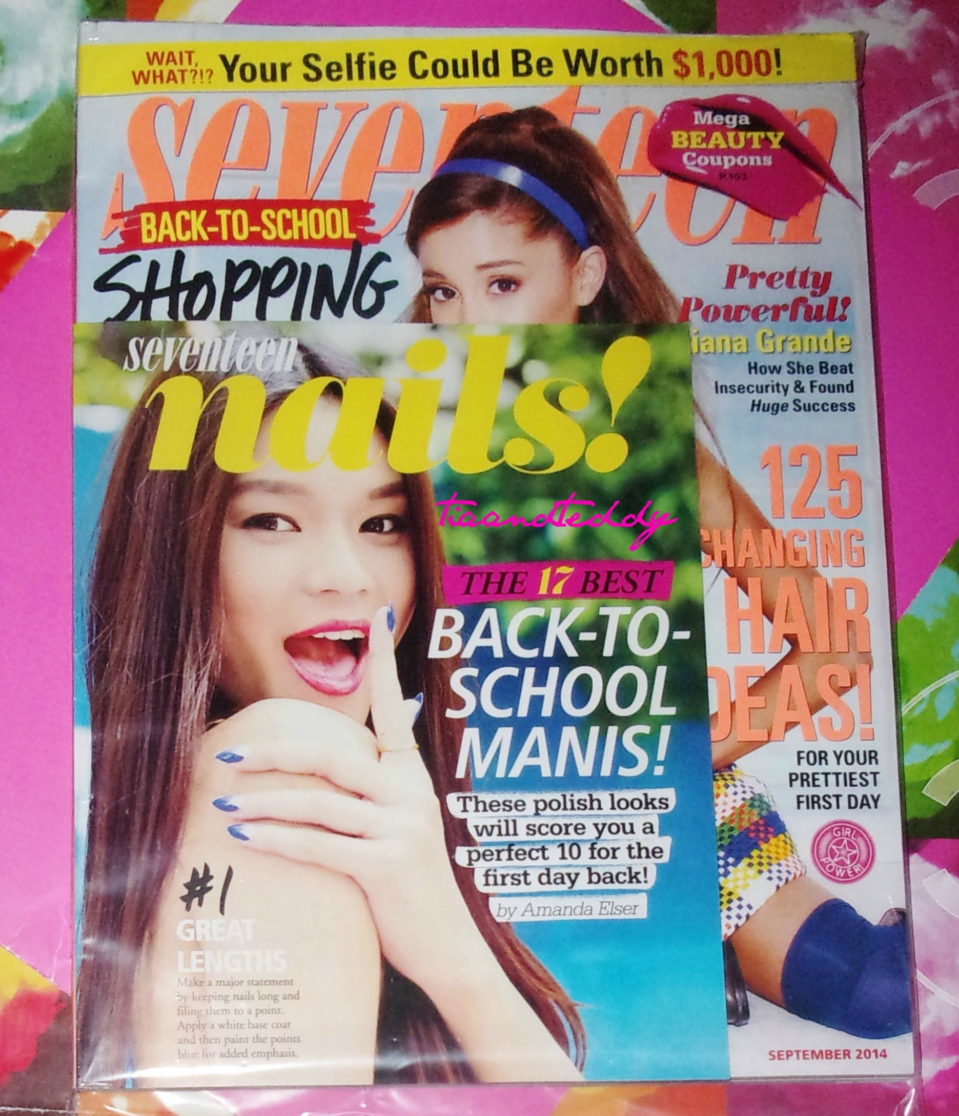 Read Online Seventeen Magazine September 2014 - Ariana Grande on Cover PDF