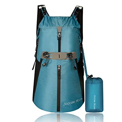 4a1ca2f0896c Amazon.com   Jocose Moose 35L Waterproof Hiking Backpack - Lightweight  Packable Travel Foldable Daypack   Sports   Outdoors