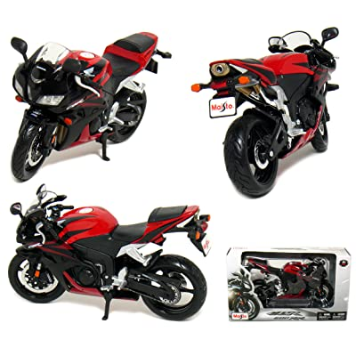 Honda CBR 600RR Motorcycle 1:12 Scale (Red) by Maisto: Toys & Games