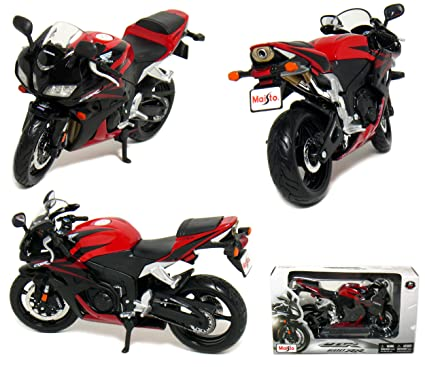 Amazoncom Honda Cbr 600rr Motorcycle 112 Scale Red By Maisto