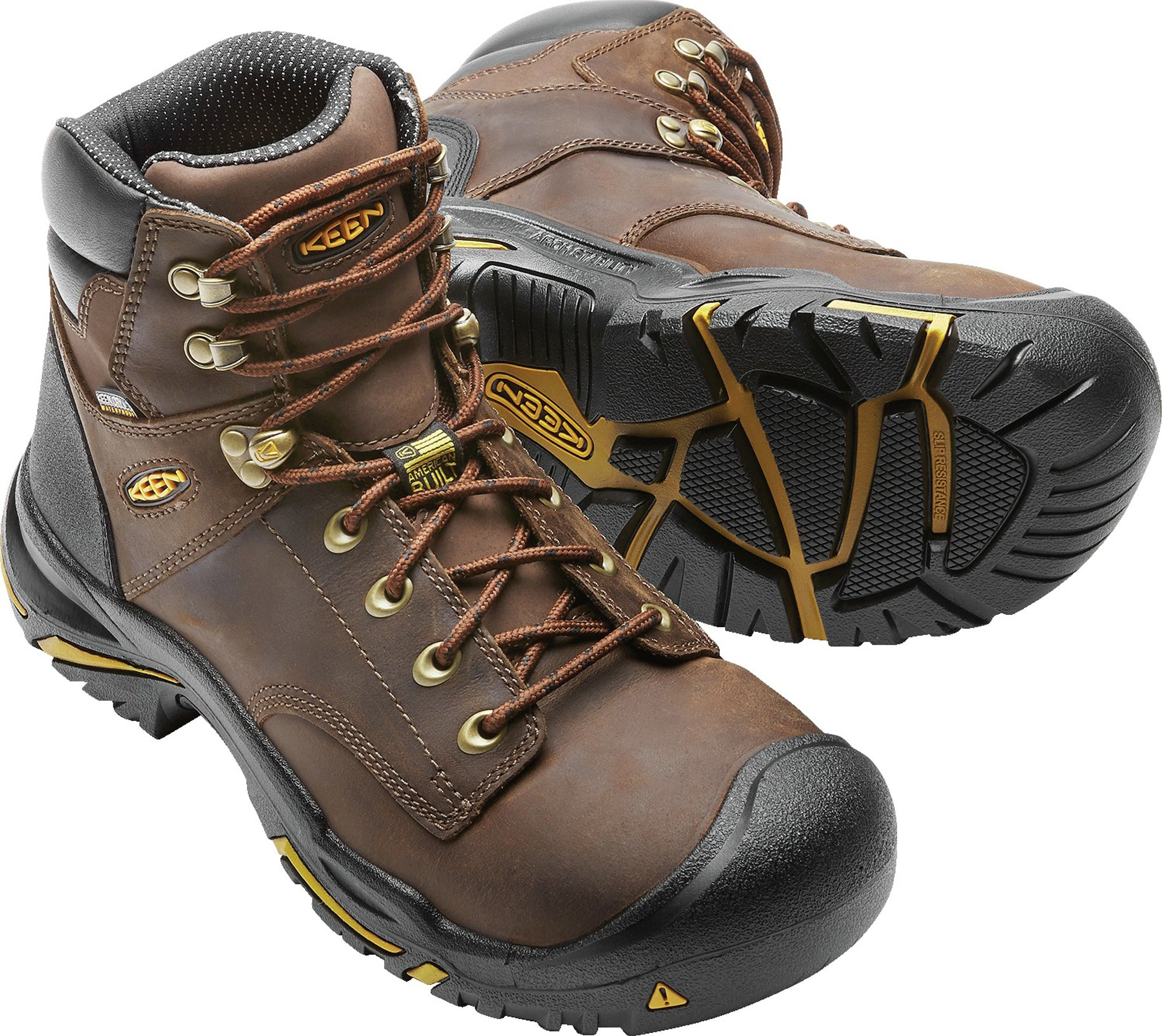 KEEN Utility MT Vernon 6'' Waterproof (Steel Toe), Men's Work Boot, Cascade Brown, 15 EE by KEEN Utility (Image #3)