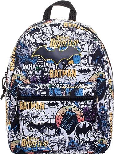 DC Comics Batman Classic Comic Characters 16 Backpack