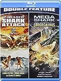 2-Headed Shark Attack / Mega Shark Versus Crocosaurus [Blu-ray]