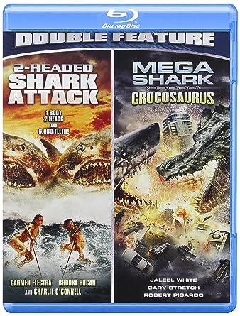 2 Headed Shark Mega Shark Versus Crocosaurus Blu Ray