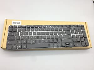 Replacement Keyboard for HP Pavilion g6-2000 g6t-2000 CTO g6-2100 g6t-2100 CTO g6-2200 g6t-2200 CTO g6-2300 g6t-2300 CTO Series Laptop with Frame 697452-001, 699497-001, AER36A02210, AER36U02210