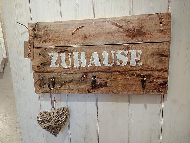 Schlusselbrett Garderobe Zuhause Aus Altem Holz Shabby