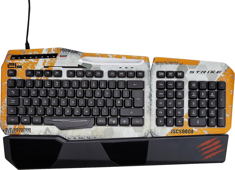 Titanfall Mad Catz STRIKE3 Keyboard (Mac/Pc Dvd) [Importación Inglesa]