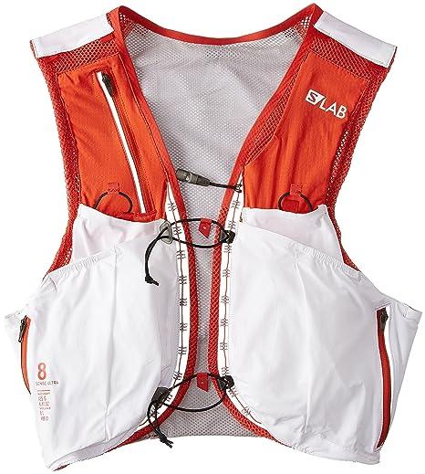1ac9a96899d SALOMON S-Lab Sense Ultra 8 W Vest - Women's, Womens, L39381400_S, White, S:  Amazon.co.uk: Clothing