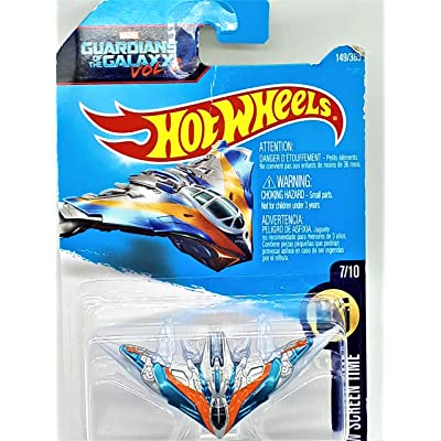 Hot Wheels 2020 HW Screen Time Marvel Guardians of the Galaxy Vol. 2 Milano Spaceship 149/365: Toys & Games