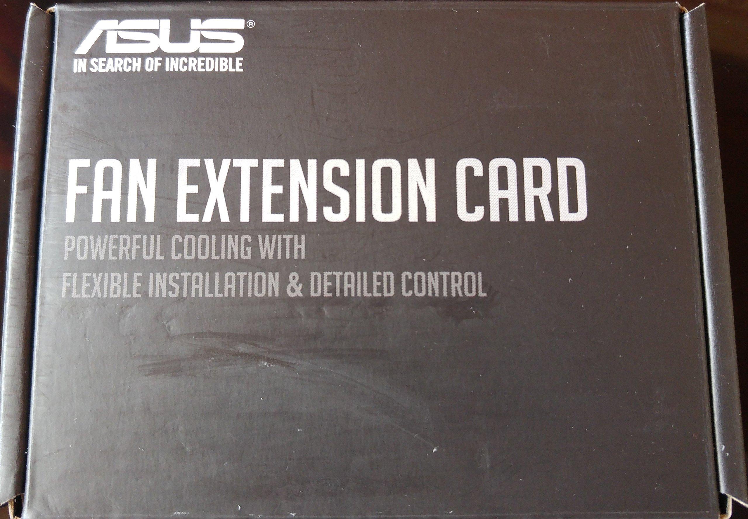 ASUS Asustek Motherboard for Optional Fan for Connecting pinhedda- Upgrade Card Fan Extension Card