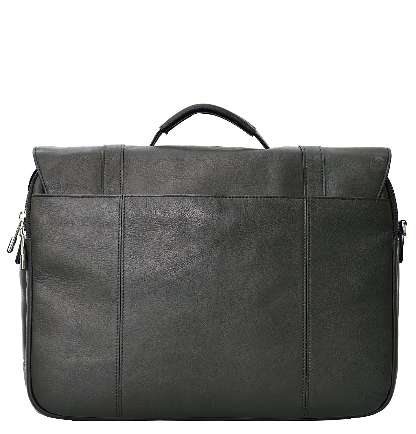 5d49a2ae006 Amazon.com  Samsonite Colombian Leather Flapover Case (Black Chrome)   Office Products