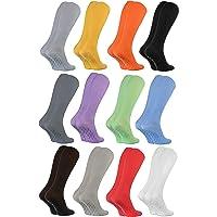 Rainbow Socks - Hombre Mujer Calcetines Largos Antideslizantes Sin Elásticos