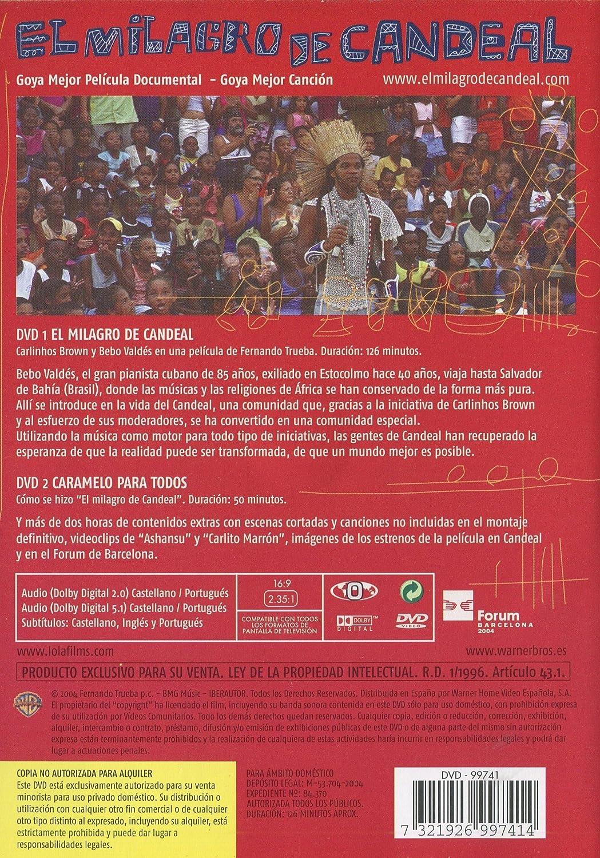 El Milagro de Candeal [DVD] [Reino Unido]: Amazon.es: Carlinhos Brown, Bebo Valdés, Caetano Veloso, Marisa Monte, Fernando Trueba: Cine y Series TV