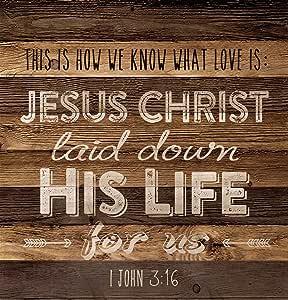 P. Graham Dunn PNL0197 1 John 3:16