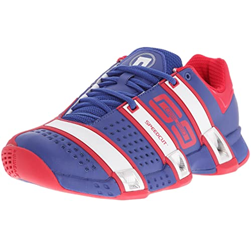 online here classic buy popular adidas Stabil Optifit Ffh - Chaussures indoor Homme - Bleu/Blanc/Rouge